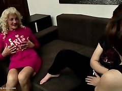 Grannies and moms fuck youthfull lezzy meat