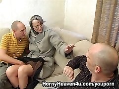 Granny Loves It Assfucking