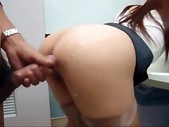 Japanese girl pulverized in public