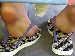 Candid teenager epic soles and feet sola pies