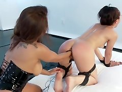 Kristina Rose Electro Buttfuck Fisted!