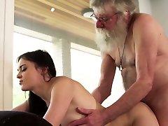 Old and young porn nubile girlfriend sucks grandpa cock hard