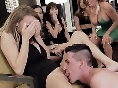 MYLF - Hot Milfs Torn Up By Male Strippers