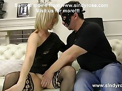 Sindy Rose & MrPlay double pussy & anal fisting and ass inside-out