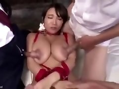 Porking her nipples make her squirt