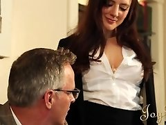 JOYBEAR Sexy Sekretārs Samanta Bentley apbalvoti ar skolas direktoru
