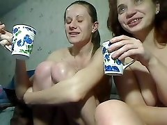Two Crazy Girls Going Knuckle Deep And Squirting On Cam