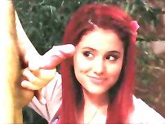 Ariana grande un Viktorija tieslietu stroking manas gailis