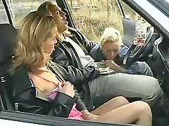 amateur car blowjob