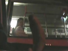 fascinated to see bigcock flashing car to bus