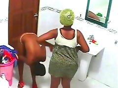 Ghana Reality shower nude shower 3