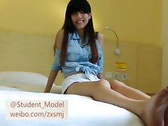 Chinese Student Feet Tickling