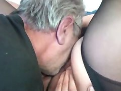 Old BBW Plays with Old Man