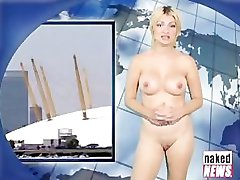 Canary Wharf in London as a Naked Tourist Destination!