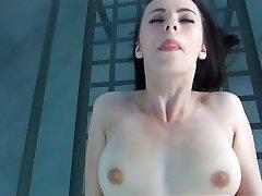 Flexible Tussi versucht porno