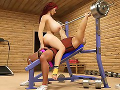 Gym fuck part2
