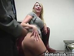 Missy Woods Sexy Secretary Punishes CoWorkers