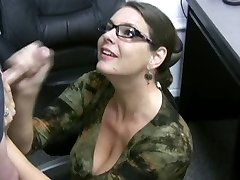 Carrie - Jism Covered Glasses