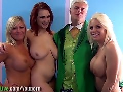 St.Patrick's sex industry star orgy soiree! Vol.1