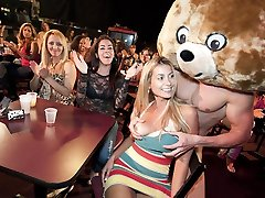 Pretty Faces Get Pounded By The Dancing Teddy