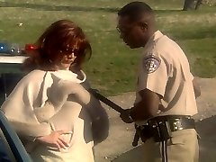 Redhead Cougar Marilyn Chambers fucking police