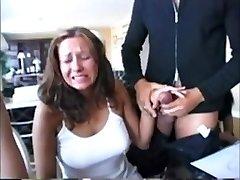 Compilation Hot chicks reacting to big cocks