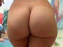 Massive Ass White Girl