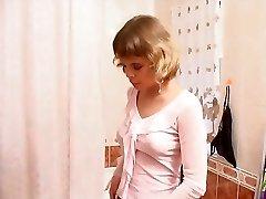 Emma in the bathroom