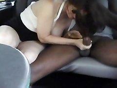 Monique's Back Seat Ride