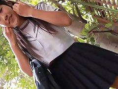 erotika ázijské školáčka upskirt pánty dráždiť