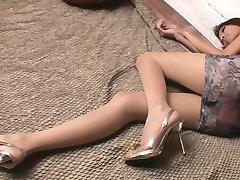 Ázijské Glamour - Krásne teenagerov dievčatá v sexy oblečenie, v8