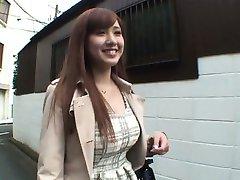 Som Pohár 19-rok-starý AV Debut Kitano Haruka A