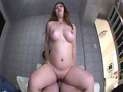 Crazy pornstar Momo Aihara in hottest cumshots, creampie xxx video