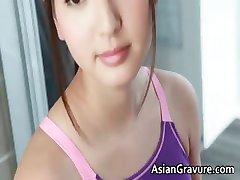 Zaparené reálne ázijský model sprchovaní part4