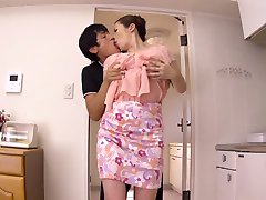 Incredible Japanese whore Aoi Aoyama in Fabulous JAV censored MILFs, Hairy movie