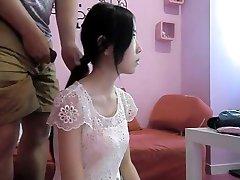 뜨거운 중국 Hairjob