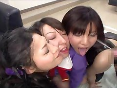Japanese Girls Facial Compilation - Part 1