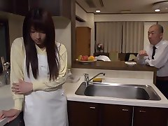 Exotic Japanese whore Shiori Kamisaki in Crazy fingering, rimming JAV scene