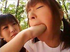 Japonský úst fisting