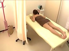 Cute petite Jap screwed in hot spy cam massage video