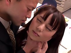 Best Japanese chick Yuria Ayane in Fabulous office, upskirts JAV video