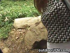 Amatérske Celkom Asian babe v prdeli