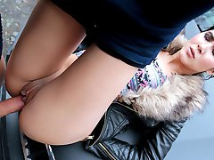 Lady D in Czech Honey's Roadside Sex Tape - StrandedTeens