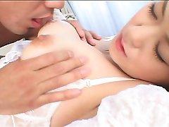 Japonský nevesta v prdeli pred svadbou