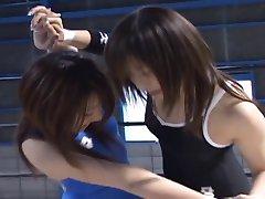 Japonský Modelky Zápas