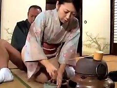 japonské KIMONO milf