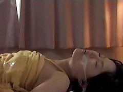 Futanari suck her own cock and cum in her mouth