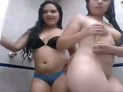 Indonesian Chicks Showering