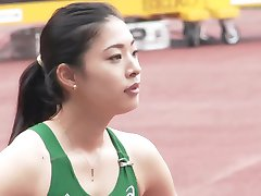 Sexy Asian Track Star