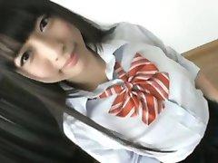 Ázijské Školáčka Korisť Dráždiť - FreeFetishTVcom